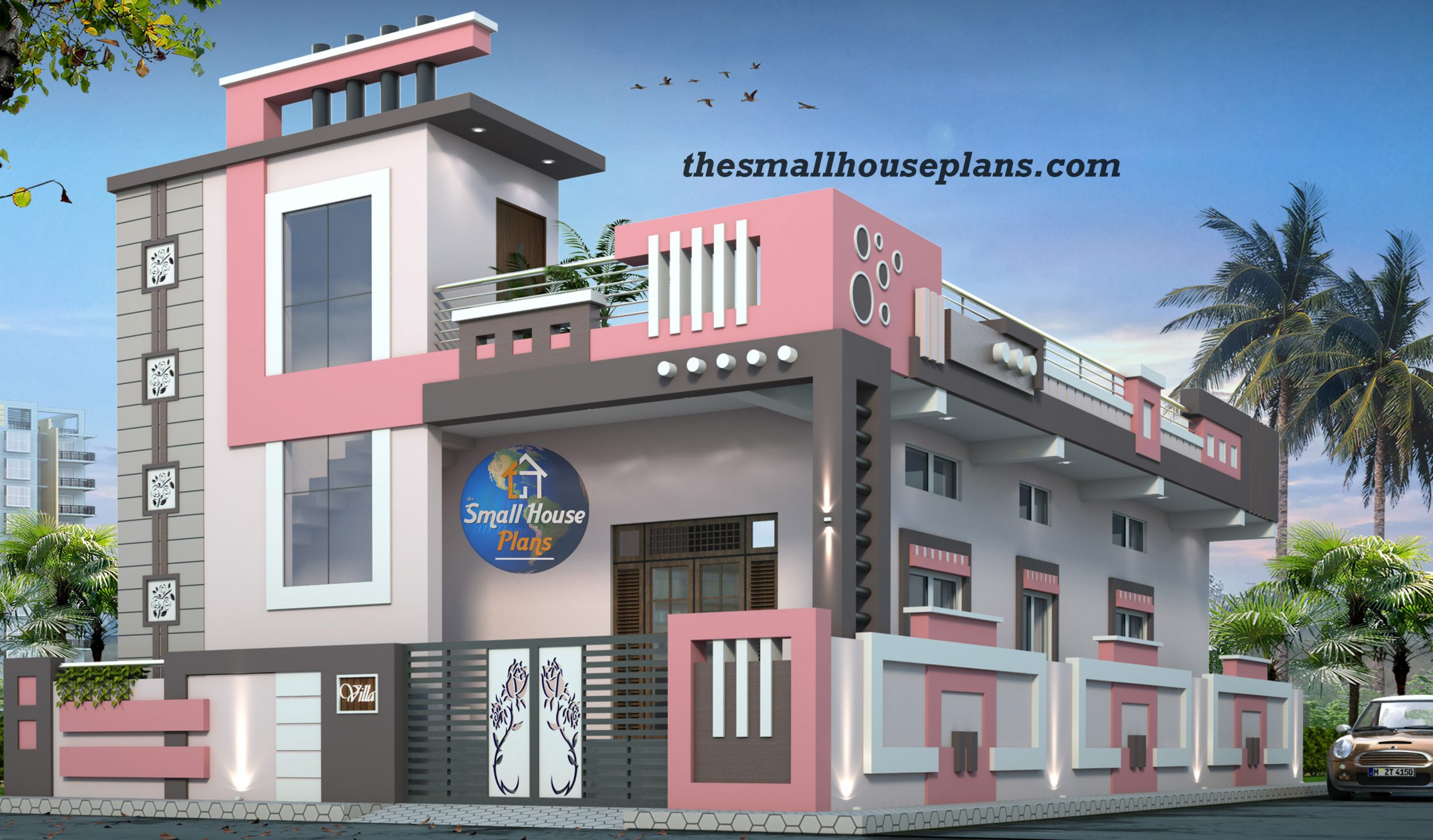 front design of small house