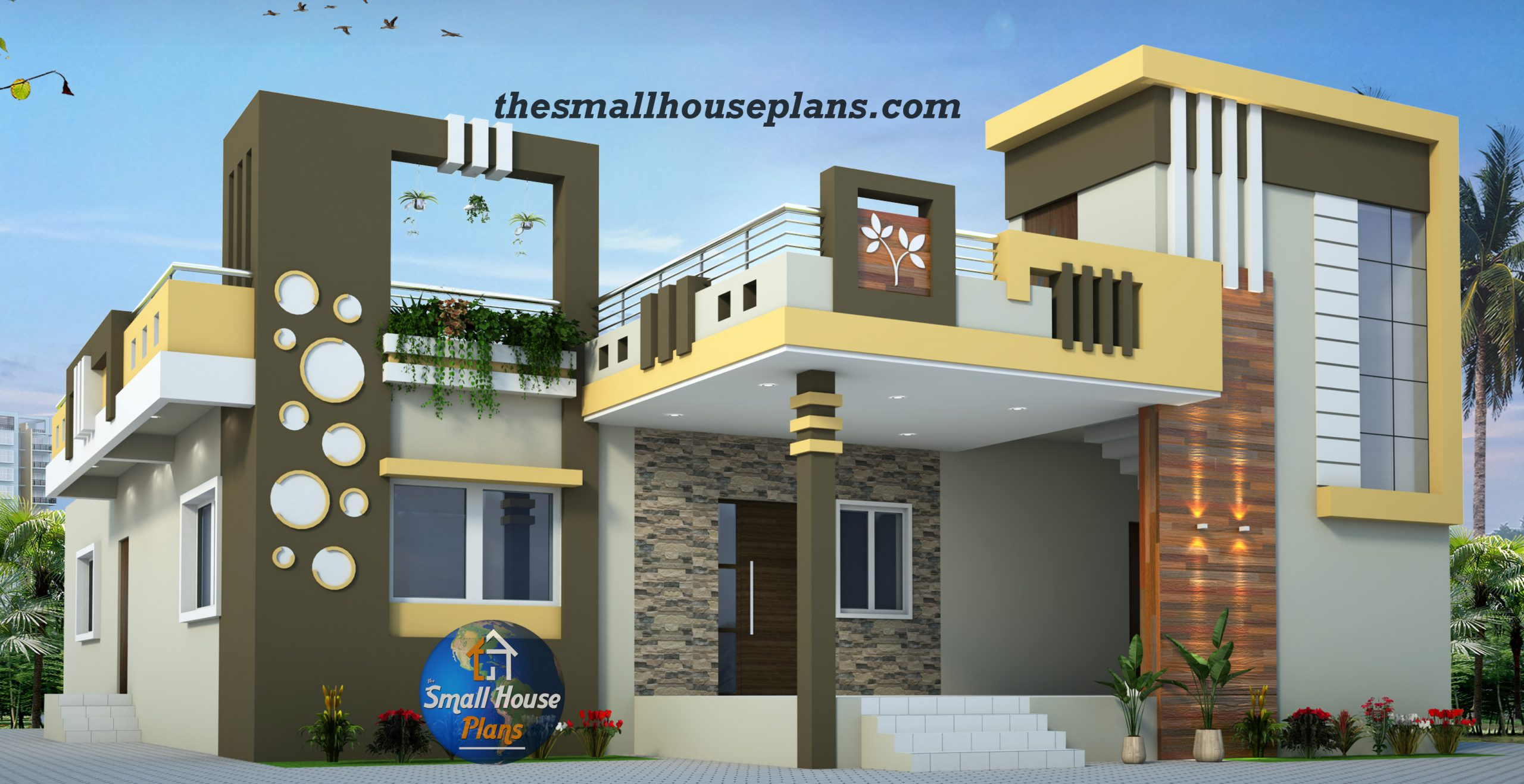 small house elevation designs