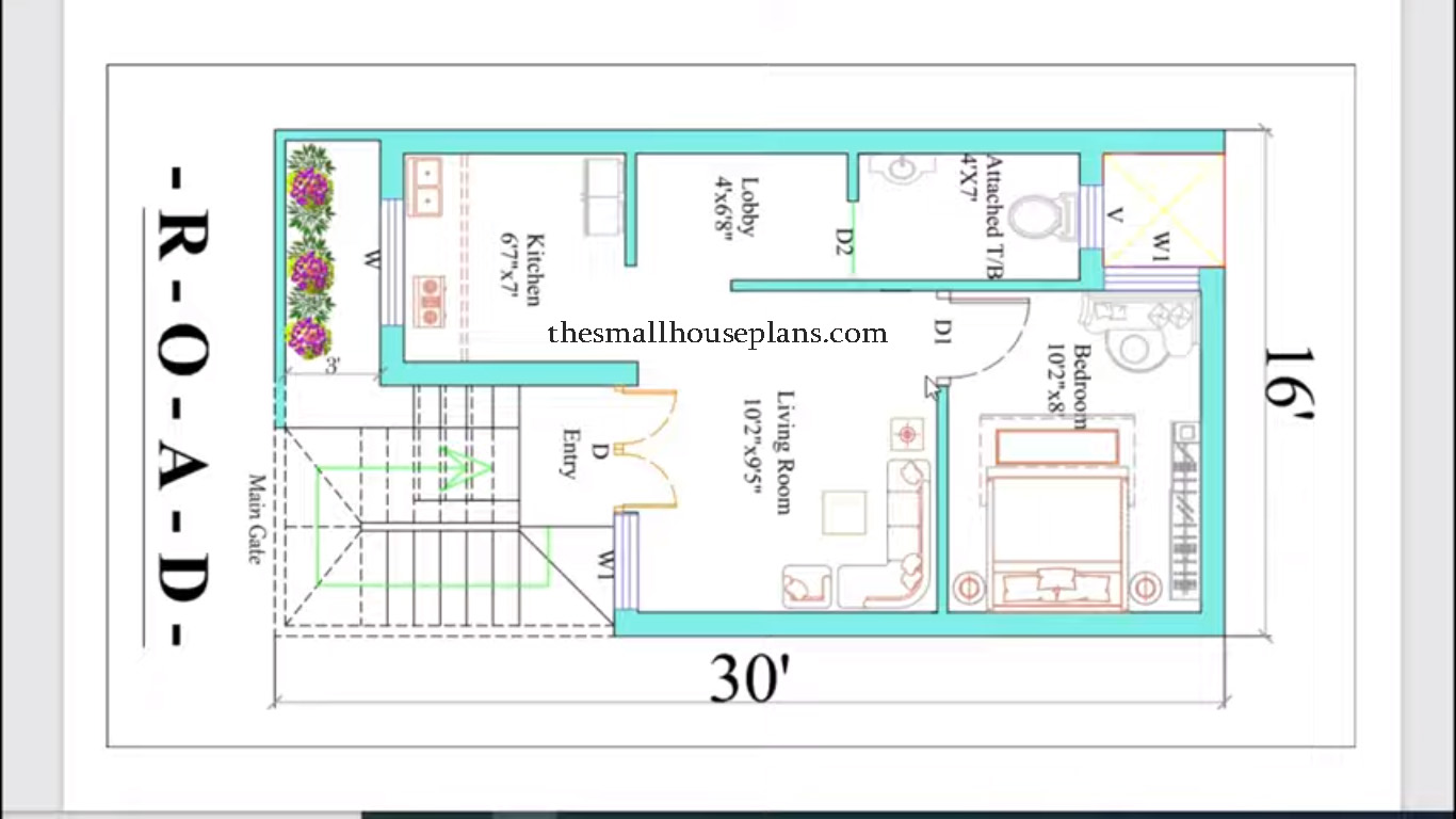 Small house design in low cost