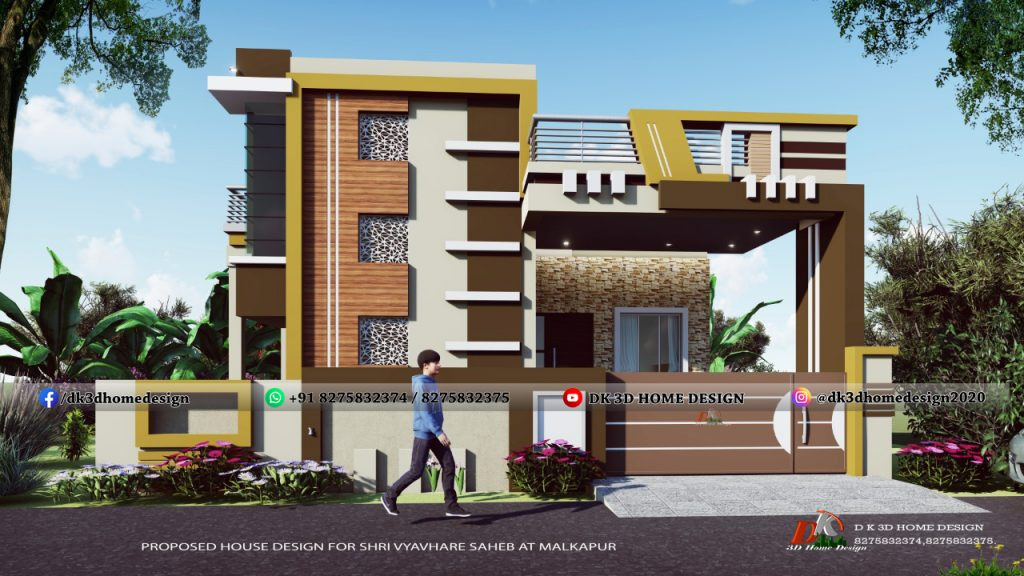 small house normal house front elevation designs