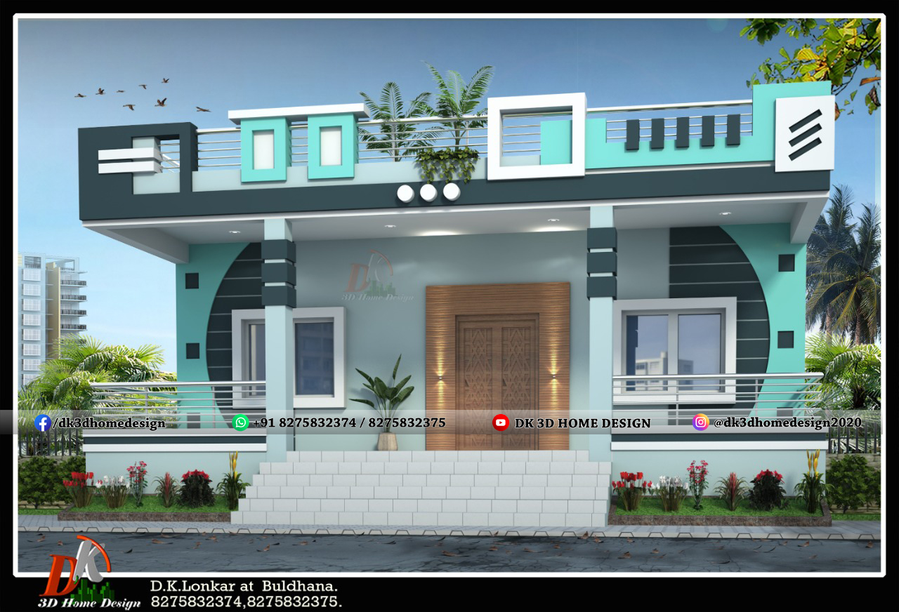 simple front elevation designs for small houses