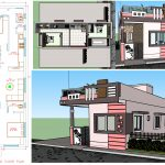 single floor small house design in 1000 square feet