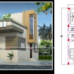 25*33 house plan with 825 square feet house design