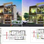 1000 sq ft modern duplex house plans and designs